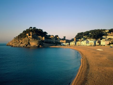 Tossa de Mar (Spanyolország, Costa Brava)
