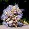 Tengerparti kagylós menyasszonyi csokor