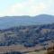 A Zágoni hegyek  Keresztvárról nézve