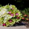 Agyagorchidea menyasszonyi csokor