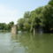 Kimle, Mosoni-Duna a Régi híd pilléreinél, 2003. június 23.-án