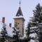 Evangélikus templom télen