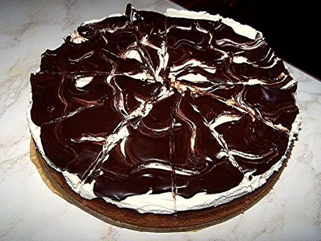 Kávés csokis torta