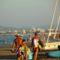 Rimini 11.-naplemente előtt,még sokan a strandon