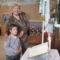 Anya kisfiával a Bibliánál 2011. szeptember