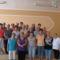 Nyugdíjasklub tagjainak egy csoportja