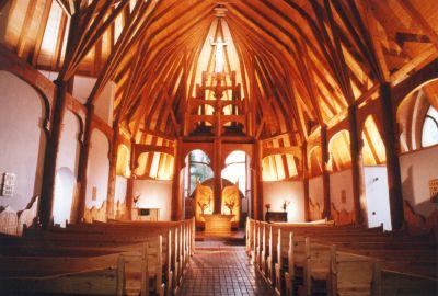 Siófok, evangélikus templom 1986