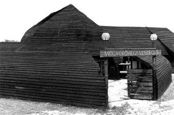 Visegrád Mogyoró-hegy, vendéglő 1980