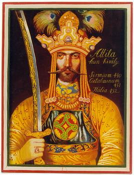 Atilla hun király
