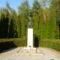 Ásványráró, Somogyi József köztéri alkotása, a II. világháború hőseinek emlékére, készült 1992-ben
