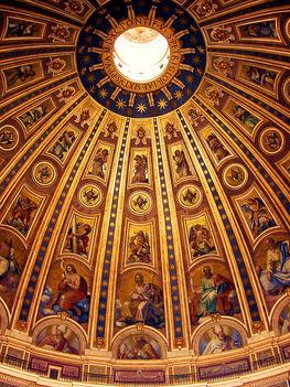 St. Péter Bazilika Kupolája