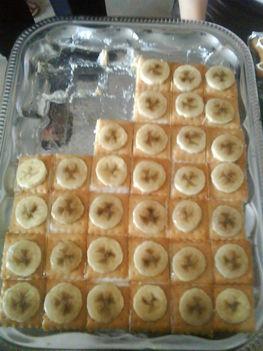 egyszerűség és finomság /kekszes-tejfölös süti  / FÜLEP MÁRIA receptje alapján/