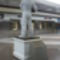 Jack Swigert szobra a vonatállomásnál