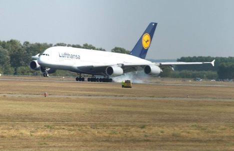 Letette a kerekeit az Airbus