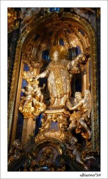 Szent Ignác oltár2 Il Gesu