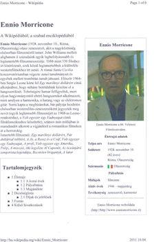 06 ENNIO MORRICONE