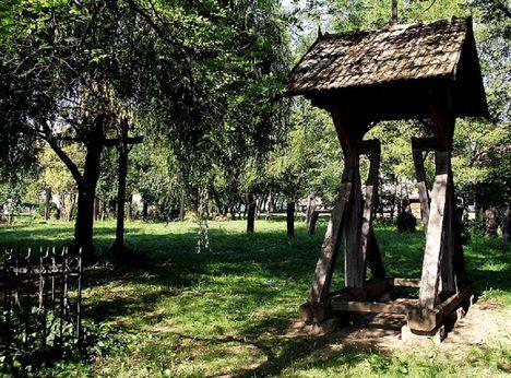 temető, harangláb Büdszemtmihályról