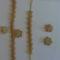 Zoldgyongyos,zsinoros drapp szett -20111003307