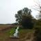 Hegyeshalom, Márialiget, Lajta jobb parti csatorna a felső, a szivornyás vízkivételnél, 2011. október 06