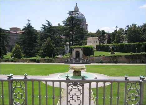 vatikán kertjei 1
