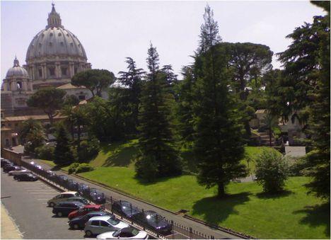 vatikán kertjei 3
