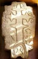 a pilisszántói temetőben talált páloskő