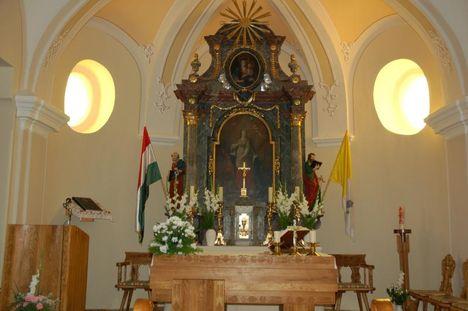 Dunaszeg_templom belső 1.rész