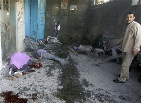 észak gázai iskolai támadás