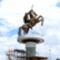 Nagy Sándor készülő monumentális bronzszobra