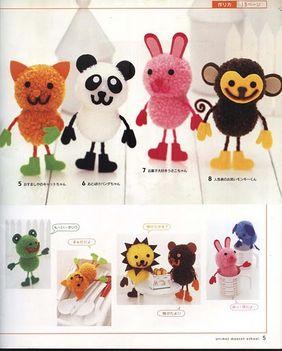 Pom-pom állatkák