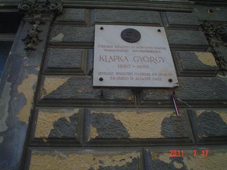 Temesvár: Klapka György szülőháza