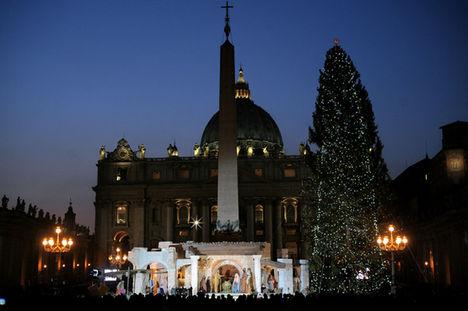 vatikáni karácsony