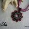 Elda (bordó-fekete)