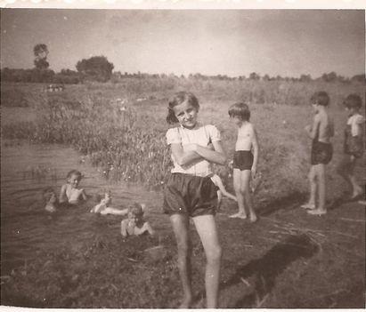 Strandolás a Hanyban 1959
