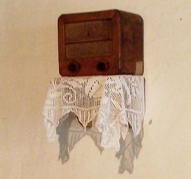 egy régi rádió