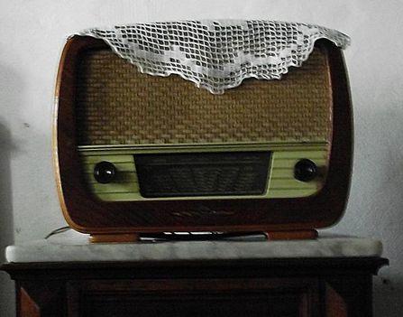 rádió, 1950-es évből