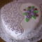 Alkalmi szív torta