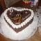 Plútó Szív torta