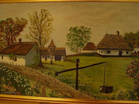 tavaszi falukép