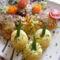 Csirke felső-comb sütve