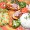 Csirkemáj palacsinta tésztába