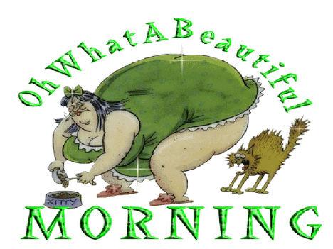 csodás reggelt