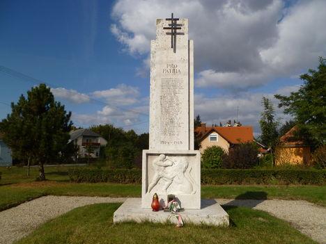 Máriakálnok, Első világháborús emlékmű, 2011. október 15.-én