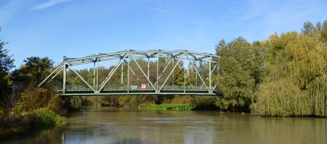Máriakálnok, Mosoni-Duna, a Kálnoki híd, 2011. október 16.-án