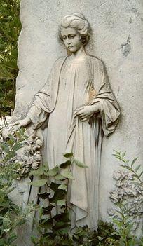 temetői szobor