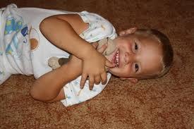 Őszinte gyerek mosoly