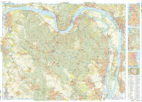 Pilis hegység térképe