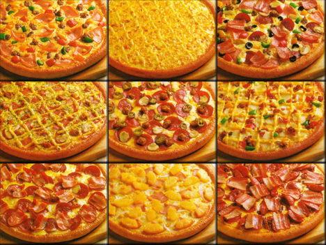 Pizzakínálat