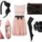 rózsaszín szett