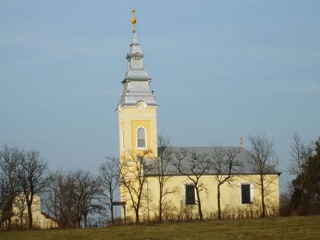 A leleszi /Felvidék/ református templom